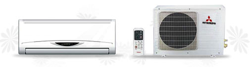 Wall Mounted Mr.Slim Air Conditioners